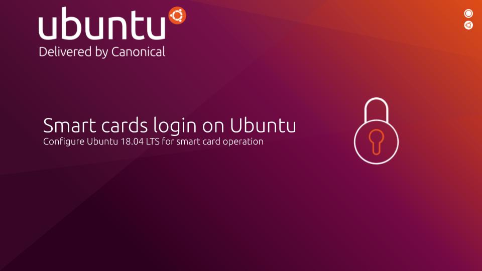 Smart cards login on Ubuntu
